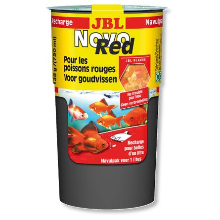 JBL NovoRed Refill Корм для золотых рыбок, дополнительная упаковка, хлопья, 750 мл
