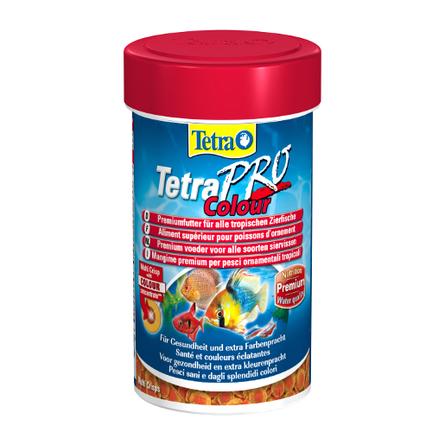 TetraPro Color Crisps Основной корм для всех видов рыб, 500 мл