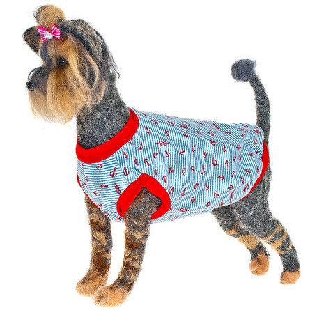 Happy Puppy Пляжная Майка для собак, с рисунком, унисекс
