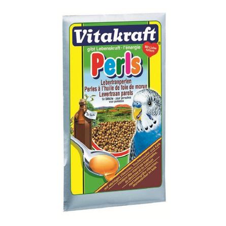 Купить Vitakraft Perls Подкормка для волнистых попугаев для укрепления иммунитета, 20 гр