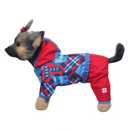 Купить DogModa Комбинезон Прогулочный для собак, длина спины 24 см, обхват шеи 25 см, обхват груди 39 см, девочка