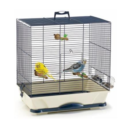 Savic Primo 40 Клетка для птиц, сине-бежевая