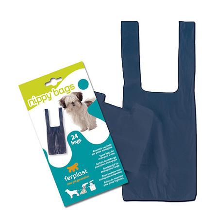 Ferplast Nippy Bags Пакеты на совок для уборки за животными, 24 шт