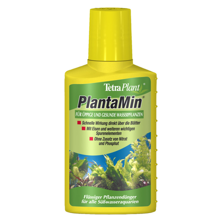 Купить Tetra PlantaMin Удобрение с железом для аквариумов на 200 л, 100 мл