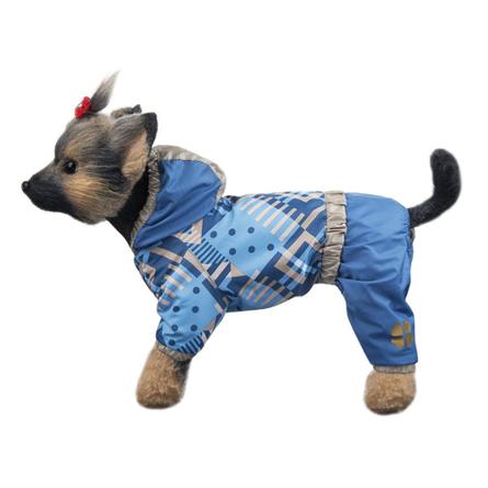 Купить DogModa Комбинезон Прогулочный для собак, длина спины 24 см, обхват шеи 25 см, обхват груди 39 см, унисекс