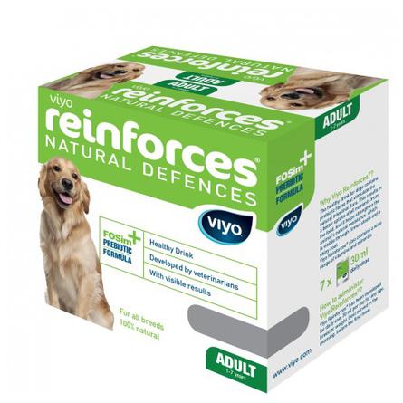 Viyo Adult Dog Пребиотический напиток для взрослых собак, 7 пакетиков, 210 мл