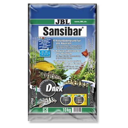 JBL Sansibar DARK Чёрный донный грунт для пресноводных и морских аквариумов, 10 кг