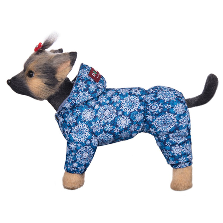 Купить DogModa Комбинезон Зима для собак, длина спины 24 см, обхват шеи 25 см, обхват груди 39 см, мальчик