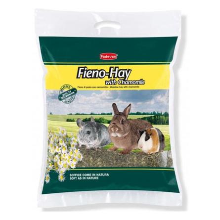 Купить Padovan Fieno-Hay Луговое сено для грызунов (с ромашкой), 700 гр