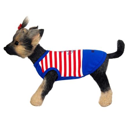 Купить DogModa Майка Круиз для собак, длина спины 20 см, обхват шеи 21 см, обхват груди 33 см