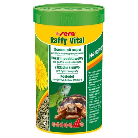 Sera Raffy Vital Корм для сухопутных черепах и других растительноядных рептилий, ассорти, 47 гр