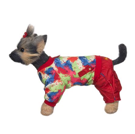 Купить DogModa Комбинезон Акварель для собак, длина спины 28 см, обхват шеи 29 см, обхват груди 45 см, девочка