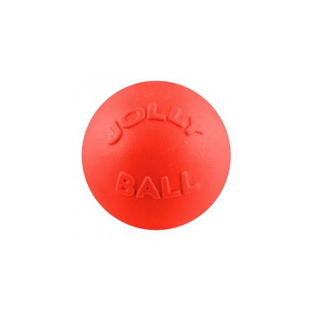 Jolly Pets Мяч Bounce-n-Play Ball для собак, красный, 11,5 см фото