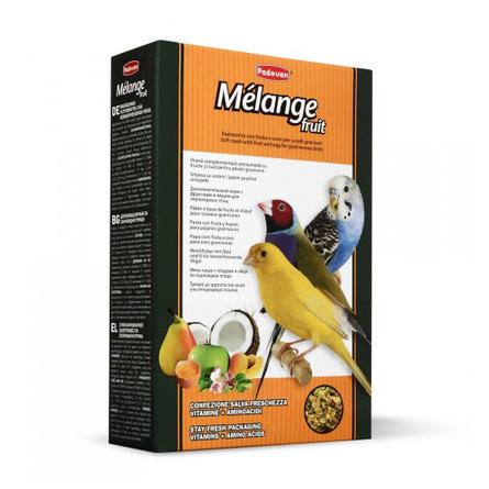 Купить Padovan Melange Fruit Дополнительный корм для декоративных птиц, 300 гр
