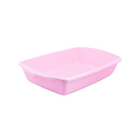 Pet Inn Cleo SweetLine Лоток для кошек и котят, розовый фото