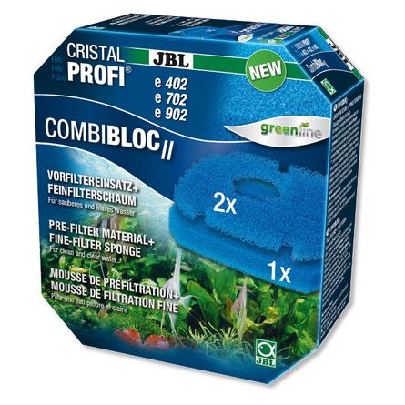 Купить JBL CombiBloc II CristalProfi e1502/1902 Набор вставок предварительной фильтрации и губок для фильтра CristalProfi e (02), 3 губки