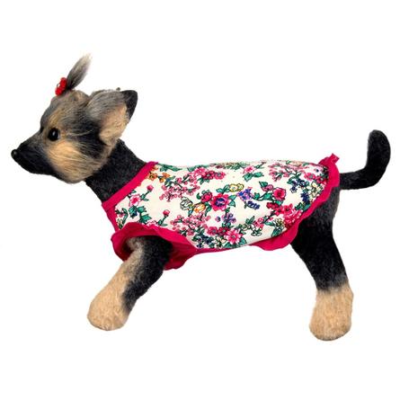Купить DogModa Майка Оливия для собак, длина спины 28 см, обхват шеи 29 см, обхват груди 45 см