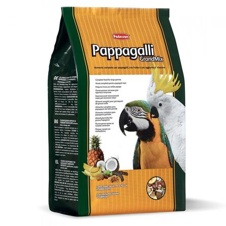 Padovan Grandmix Pappagalli Корм для крупных попугаев, 2 кг фото