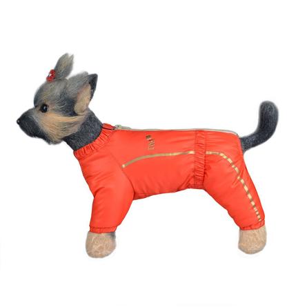 Купить DogModa Альпы 1 Комбинезон теплый для собак, девочка, оранжевый