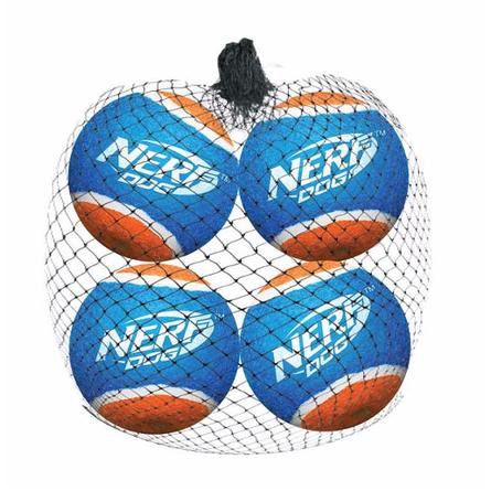 NERF Dog мяч теннисный для бластера, 6 см, 4 шт