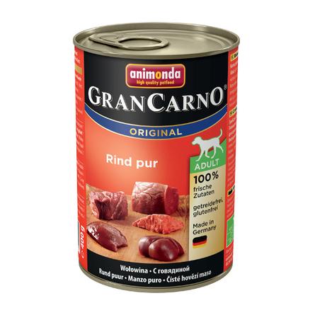 Animonda Gran Carno Original Adult Кусочки паштета для взрослых собак всех пород (с говядиной), 400 гр фото