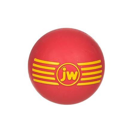 J.W.Pet Игрушка для собак ''Мяч с пищалкой'', малая