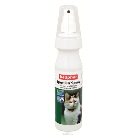 Beaphar Spot On Spray Спрей антипаразитарный для кошек и котят, 150 мл