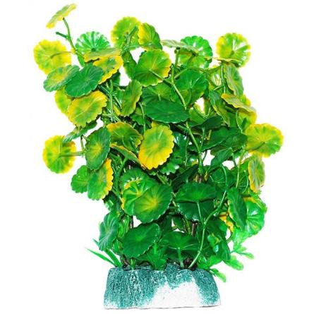 УЮТ Растение аквариумное Щитолистник зелено-желтый, 24 см