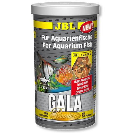 JBL Gala Основной корм премиум-класса для аквариумных рыб (хлопья), 1 л