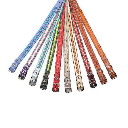 Dogger Ошейник для собак, с плетением, ширина 2 см, длина 35-55 см фото