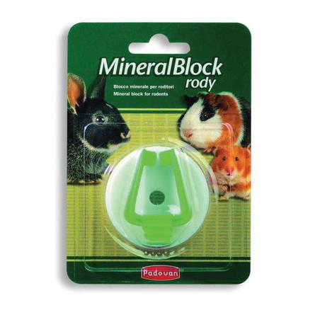 Padovan MineralBlock Rody Минеральный камень для грызунов, 50 гр
