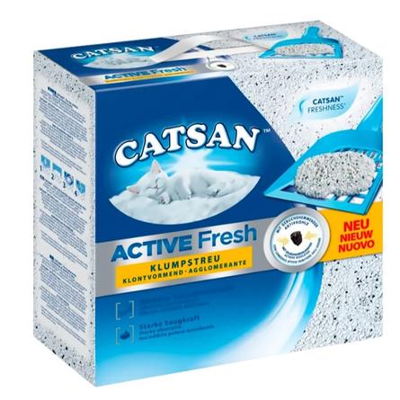 Catsan Active Fresh Наполнитель для кошек комкующийся, 5 л