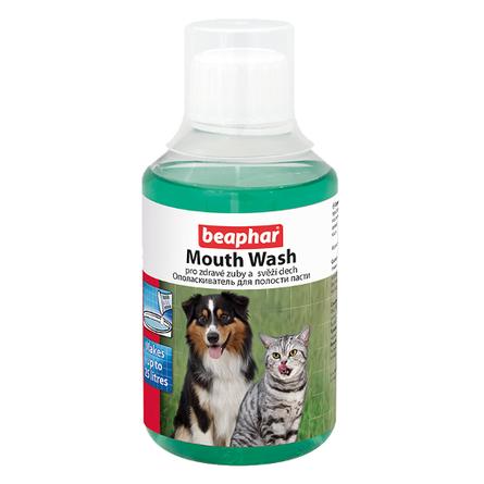 Beaphar Mouth Wash Ополаскиватель пасти для кошек и собак, 250 мл