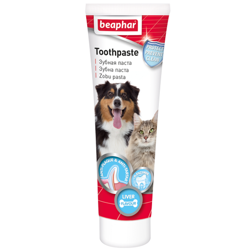 Beaphar Tooth paste зубная паста для собак и кошек