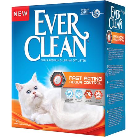 Купить Ever Clean Fast Acting Наполнитель комкующийся для кошек, 10 л