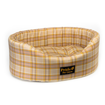 Купить Pride Лежак Комфорт Несси для собак и кошек, шерсть