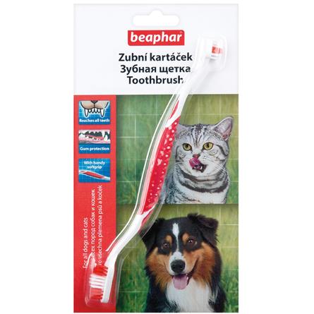 Beaphar Зубная щетка двойная для собак