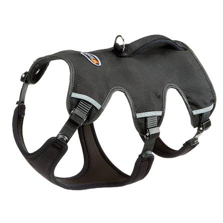 Ferplast Ergotrekking P Шлейка для собак, обхват шеи 50-60 см, обхват груди 70-80 см, черная фото