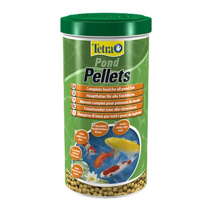 Купить Tetra Pond Pellets корм для прудовых рыб, 1 л