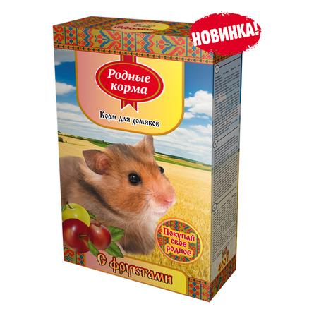 Купить Родные Корма Корм для хомяков (с фруктами), 400 гр, Родные корма