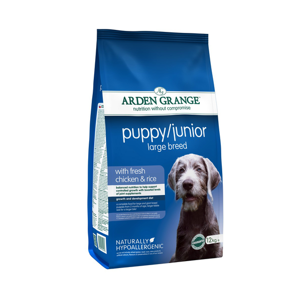 Arden Grange Puppy/Junior Large Breed сухой корм для щенков и молодых собак крупных пород – интернет-магазин Ле'Муррр