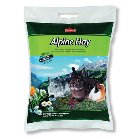 Padovan ALPINE HAY альпийские травы для грызунов, 700 гр