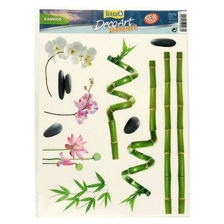 Tetra DecoArt StickerSet Bamboo Набор наклеек для аквариума фото