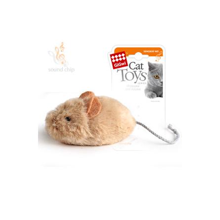 GiGwi Мышка Игрушка для кошек, с чипом фото