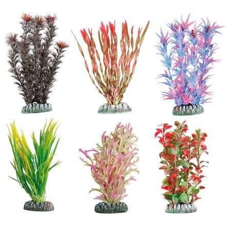 Flamingo GUYANA Растение для аквариума пластиковое, в ассортименте, 15 см фото