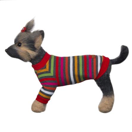 DogModa Пуловер Досуг для собак, длина спины 20 см, обхват шеи 21 см, обхват груди 33 см  - купить со скидкой