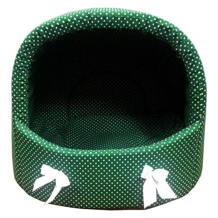 CLP Зеленый горох L Лежанка-ракушка для животных, зелёная фото
