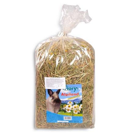 Купить Fiory Fieno Alpiland Camomile Горное сено для грызунов (с ромашкой), 500 гр