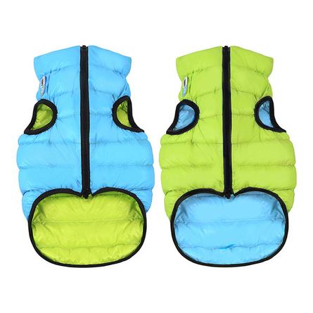 Collar AiryVest Курточка двухсторонняя для собак, салатово-голубая фото