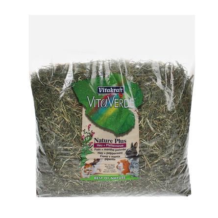 Купить Vitakraft Луговое сено для грызунов (с перечной мятой), 500 гр